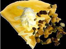 ハチミツナッツ生クリームの画像
