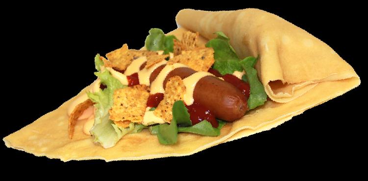 ナチョス風チーズドックサラダの画像